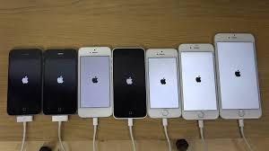 iPhone 6 Plus vs 6 vs 5S vs 5C vs 5 vs 4S vs 4 Which Is