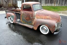 100 1951 Chevy Truck For Sale 1950 Chevrolet Pick UpWhitewallsPatinaRat Rod19491952