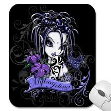 Gothic Evil Dragon Tattoo Arm Vampire Woman