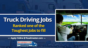 100 Truck Driving Jobs Driving Jobs Ranked As One Of The Toughest To Fill