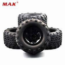 Rc Big Foot Tires 26403 Rubber Tires Rims Set For 1/8 Truck RC ... Traxxas Bigfoot Rc Monster Truck 2wd 110 Rtr Red White Blue Edition Slash 4x4 Short Course Truck Neobuggynet Offroad Vxl 2wd Brushless Cars For Erevo The Best Allround Car Money Can Buy X Maxx Axial Yetti Trophy Trucks Showcase Youtube Adventures 30ft Gap With A 4x4 Ultimate Mark Jenkins Scale Cars Best Car Reviews Guide Stampede Ripit Fancing Project Summit Lt Cversion Truck Stop Boats Hobbytown