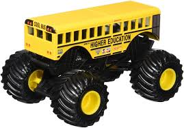 Hot Wheels Monster Jam Truck Higher Education School Bus Die-cast 1 ... The 8 Best Toy Cars For Kids To Buy In 2018 Whosale Childrens Big Wheels Pick Up Monster Truck Toys 2 Colors 51vxk4xtsnl Sy355 For Atecsyscommx Epic Arena At The Beach Unboxing 13 New 110 Scale Model 4ch Rc Tri Band Hot Jam Mutt Sound Smasher Walmartcom Amazoncom Derailed 17 Train Offroad 2014 Diy Stadium Sensory Bin Must 124 Predator Vehicle List Of 2017 Trucks Wiki Bright Rc Grave Digger Remote Control Car Blue