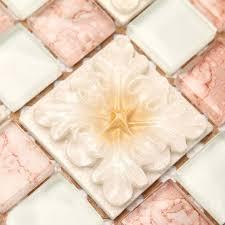 Glass Backsplash Tile Cheap by Wholesale Mosaic Tile Crystal Glass Backsplash Bedroom Design