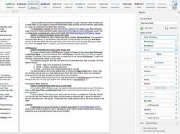 Styles Pane In Word 2016 For Mac