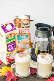 Dunkin Donuts Pumpkin Latte Gluten Free by Maple Cinnamon Vanilla Cupcake Latte Macchiato Major Hoff Takes