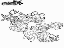 Skylander Swap Force Coloring Pages
