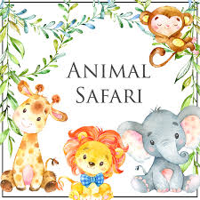 Animal Safari Baby Shower