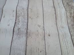 Realistic Shabby Chic Light White Cream Wood Distressed Panel Effect Wallpaper ASCreation AROUND FIREPLACE