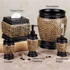 Cheetah Bathroom Rug Set by Leopard Print Bathroom Rug Sets Animal Print Bathroom Accessories