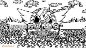 Coloring Pictures Of Sonic Games
