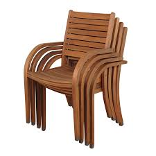 Shop International Home Amazonia Set Of 4 Eucalyptus Patio Chairs At Lowescom Contemporary Ding Chair Stackable Recyclable Product And Modern Lowes Round And Ding Outdoor Costco Alinum Depot Noble House Dover Multibrown Stackable Wicker Chair Mercury Row Corrales Stacking Reviews Wayfair Plastic Herman Miller California White Furnish Vifah 3d 2 Included In Outdoor Chairs Backydinajarcom Trade Winds Restaurant With Centauro Cantilever Couture