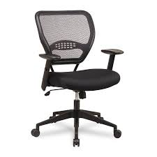 Fabric Task Chair Walmart by Space Air Grid Mid Back Swivel Chair Black 20 1 2 X 19 1 2 X 42h
