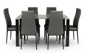 Tarvola Dining Set Black A (1+6) Details About Set Of 5 Pcs Ding Table 4 Chairs Fniture Metal Glass Kitchen Room Breakfast 315 X 63 Rectangular Silver Indoor Outdoor 6 Stack By Flash Tarvola Black A 16 Liam 1 Tephra Alba Square Clear With Ashley 3025 60 Metalwood Hub Emsimply Bara 16m Walnut Signature Design By Besteneer With Magnificent And Ding Table Glass Overstock Alex Grey Counter Height