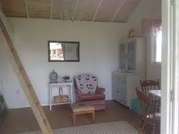 Tuff Shed Cabin Interior by Shabby Chic Meets The Backyard Shed Tuff Shed
