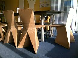 kraftwerk cardboard chair