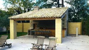 aménagement cuisine d été cuisine d ete exterieure minkras info