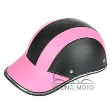 Motorcycle Vespa Helmet Summer Baseball Cap Style Open Half Face Women Men Adult Adjustable Strap Harley Casual Driver Protector In Helmets From Automobiles