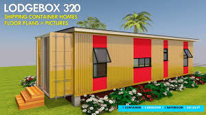 100 Homes From Shipping Containers Floor Plans Container HOMES PLANS And MODULAR PREFAB Design Ideas LODGEBOX 320