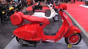 2017 Vespa 946 Red Scooter