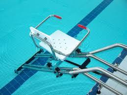 siege handicapé siège ascenseur de piscine pmr sans ancrage