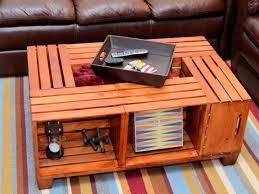 Amazing Wooden Crate Coffee Table 19 For Small Home Remodel Ideas With