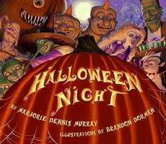 Twas The Night Before Halloween Book by Halloween Night By Marjorie Dennis Murray