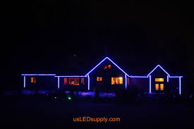 chic led outside house lights led rope lights on house