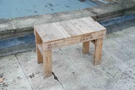 Pallet Wood Bench 1