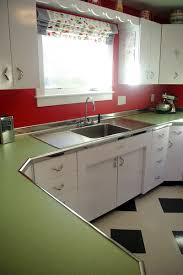 Youngstown Kitchen Double Sink by Our 50s Kitchen Renovation The Final Wrap Up U2014 Natalie Curtiss