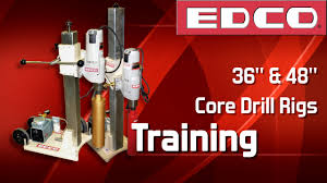 Trinco Blast Cabinet Manual by Edco Model 97220ev Core Drill With 36