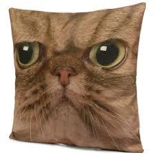 Oversized Throw Pillows Canada by 3d Animal Cat Dog Tiger Face Throw Pillow Case Sofa Office Car