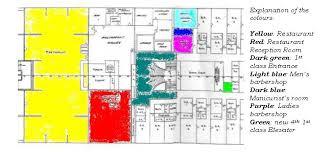 Floor Plan For A Restaurant Colors Rms Bdeck