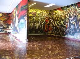 siqueiros painted de porfirismo a la revolucion in a dedicated