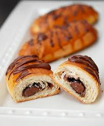 Cheaters Pain Au Chocolat Chocolate Filled Croissants