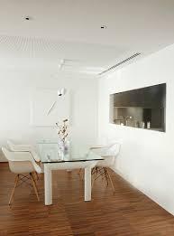 essplatz mit designer glastisch und bild kaufen