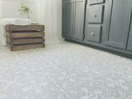 How To Paint Your Linoleum Or Tile Floors Look Like Patterned Cement Tiles Budget
