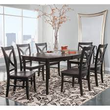 Cosmopolitan Coal/Black Dining Room 7 Piece Set - Butterfly Leaf Leg ... Amazoncom Ashley Fniture Signature Design Mallenton East West Avat7blkw 7piece Ding Table Set Hanover Monaco 7 Pc Two Swivel Chairs Four Garden Oasis Harrison Pc Textured Glasstop Small Kitchen And Strikingly Ideas Costway Patio Piece Steel Belham Living Bella All Weather Wicker Athens Reviews Joss Main 7pc Outdoor I Buy Now Free Shipping Winchester And Slatback Ruby Kidkraft Heart Kids Chair Wayfair