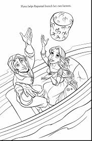 Incredible Tangled Printable Coloring Pages With And Online