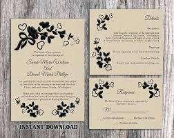 Imposing Photo Wedding Invitation Templates 24 Invite Template Word