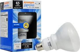 sylvania 16 watt br30 compact fluorescent flood light bulb