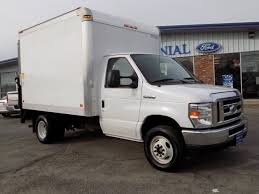 2017 Ford E-350 Cutaway 10 Foot Box Truck With THIEMAN Power ...