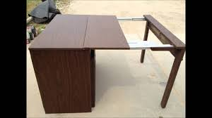 Stakmore Folding Chair Vintage by Vintage Leg O Matic Table Youtube