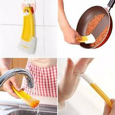 kochen genießen pfannen reinigungs schaber silikon küchen