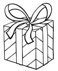 Free Printable Christmas Present Coloring Pages Print Page Arts Crafts Gift Templates Regard Full Size