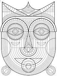 Image Of A Look Alike Mayan Mask