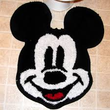 Mickey Mouse Bathroom Accessories Walmart by Minnie Mouse Glamour Shower Curtain Kids Rooms Walmart Minnie