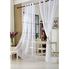 woltu vh5510ws 2 2er set gardinen vorhänge transparent mit ösen stores doppelpack ösenvorhang fensterschal voile für wohnzimmer schlafzimmer