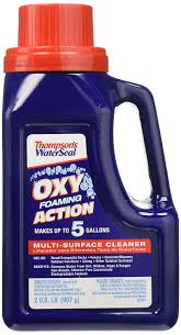 Cleaning Decking With Oxygen Bleach by Amazon Com Thompson U0027s Th 087731 42 Waterseal Oxy Foaming Action