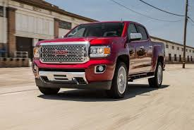 2017 GMC Canyon Denali First Test: Small Truck, Fancy Package ...