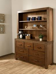 Babies R Us Dresser With Hutch by 7 Drawer Dresser Piermont Rustic Farmhouse Brown Oxford Baby